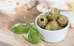 Green Olives Royalty Free Stock Photography