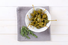 pickled caper berries Royalty Free Stock Photos