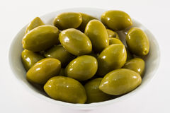 Green olives Stock Photos