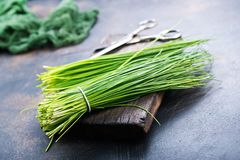 Green onion Royalty Free Stock Images