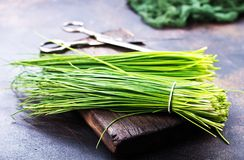 Green onion Royalty Free Stock Photography