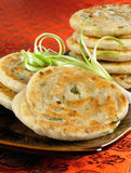 Green Onion Pancakes Stock Images