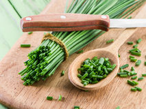 Green onions. Stock Photo