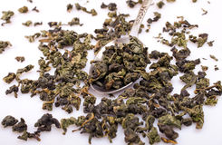 Green oolong tea Royalty Free Stock Photography