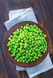 Green opeas Stock Photo