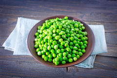 Green opeas Royalty Free Stock Images