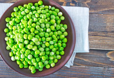Green opeas Stock Images