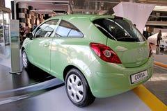 Green Opel Corsa Stock Image