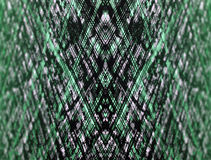 Green optical digital abstract background Stock Image