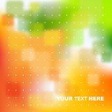 Green, orange abstract background Royalty Free Stock Photos