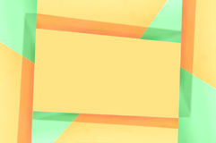 Green and Orange Abstract Frame Royalty Free Stock Photos