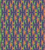 Green and orange celtic knot background Royalty Free Stock Images