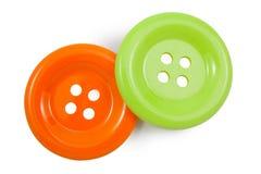 Green and Orange clasper Stock Image