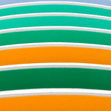 Green, Orange Color Bar Royalty Free Stock Images