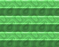 Green organic abstract background. Abstract green striped glowing background of cellular particles Stock Photo