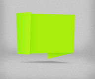 Green Origami Background Royalty Free Stock Photography