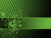 Green ornament Stock Images