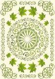 Green ornament Stock Photos