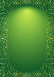 Green ornament background Royalty Free Stock Photo