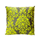 Green ornament pillow Royalty Free Stock Images