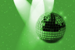 green ornament shiny Στοκ φωτογραφία με δικαίωμα ελεύθερης χρήσης