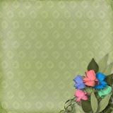 Green ornamental background Royalty Free Stock Photo