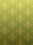 Green ornamental pattern Stock Photo