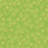 Green ornamental pattern Royalty Free Stock Photo