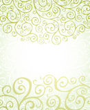 Green ornaments Stock Images