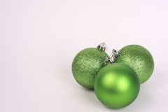 Green ornaments Stock Image