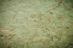 Green OSB background (Oriented Strand Board) Royalty Free Stock Image