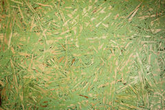 Green OSB Oriented Strand Board Stock Image