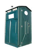 Green Outhouse Stock Images