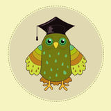 Green owl Stock Photo