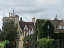 Green Oxford Royalty Free Stock Photo