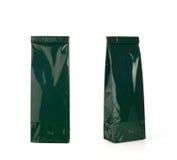 Green packs. Royalty Free Stock Photo