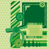 Green page Stock Image