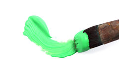 Green paint Royalty Free Stock Image