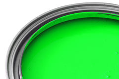 Green paint Royalty Free Stock Photo
