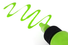 Green Paint Stock Images