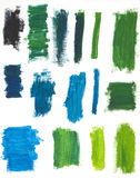 Green Paint Background Royalty Free Stock Photography