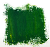 Green Paint Background Stock Photography