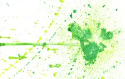 Green Paint Background Stock Image