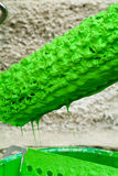 Green paint can Royalty Free Stock Photography