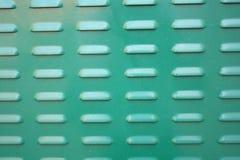 Green paint metal surface Stock Photos
