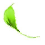 Green paint splash Royalty Free Stock Photos