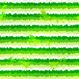Green paint splash vector seamless pattern Royalty Free Stock Image