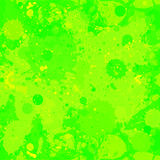 Green paint splashes background Stock Photo