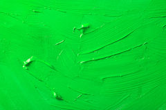 Green Paint Texture Stock Photography