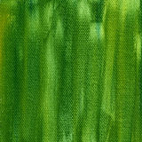 Green painted background with canvas texture Stock Photos